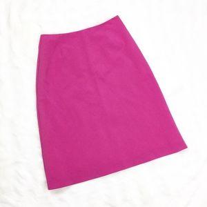Trina Turk Pink Pencil Career Skirt sz. 6